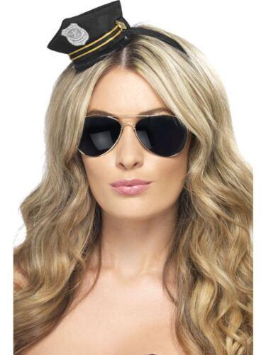 MINI Cappello da poliziotto Poliziotti /& Ladri Costume,