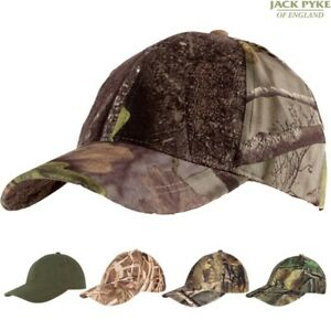 Image is loading JACK-PYKE-MENS-STEALTH-BASEBALL-CAP-HUNTING-HAT- 72d7a1dd724