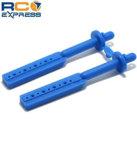 RPM R//C Products Long Body Mounts Blue T//E-Maxx RPM80175