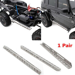 1-Par-KYX-Metal-Side-Step-Guard-Board-Para-Traxxas-TRX-6-Benz-6-6-RC-Crawler-Car