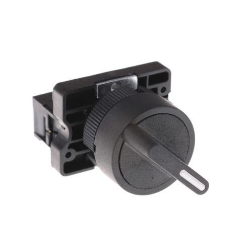 On/off interruptor selector de 2 posiciones Rotary Select 1 no 10A 600V AC XB2-ED21 EJ2R DS