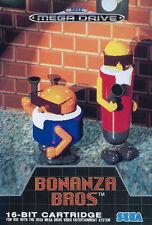 ## SEGA Mega Drive - Bonanza Bros (nur das Modul, ohne OVP / unboxed) ##
