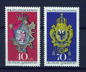 ALEMANIA-RFA-WEST-GERMANY-1973-MNH-SC-B500-B501-Posthouse-Sings