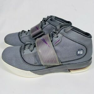 Nike Lebron Witness Zoom Soldier IV Cool Gray Mens Size 10 407707-001