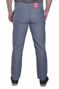 Levis-Jeans-511-Herren-69-50-Slim-Fit-Leinen-Blend-Hose-Groesse-waehlbar