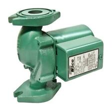 125 Hp Pump Circulator Cast Iron Taco Quiet Hydronic Boiler Replacement Heating