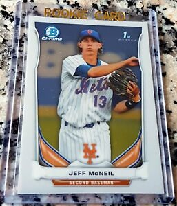 Details About Jeff Mcneil 2014 Bowman Chrome 1st Rookie Card Rc Hot New York Mets Invest Now