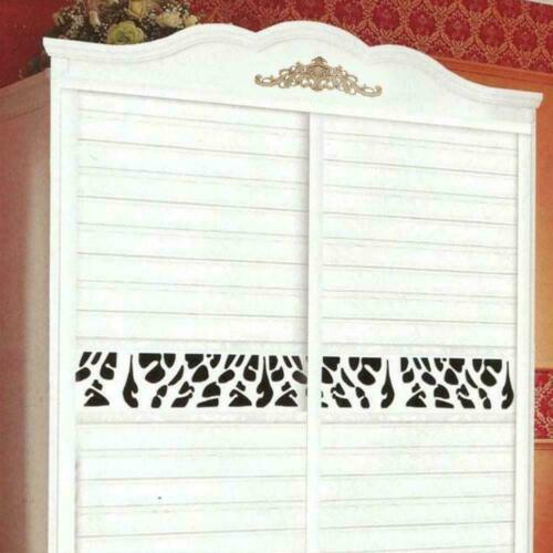 Unpainted Frame Decal Home Furniture Wood Durable Carved Onlay Corner T8M3