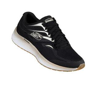 hot sale online fde13 99298 Details zu Skechers Damen Skyline Aglow 13041 Schwarz BKGD Memory Foam  Sneaker Sportschuhe