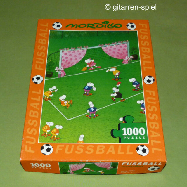 Fussball Goal Keeper S Wife 1000 Teile Puzzle Mordillo Guillermo