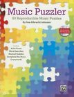 Music Puzzler: 80 Reproducible Music Puzzles, Comb Bound Book & Data CD by Sue Albrecht Johnson (Paperback / softback, 2013)