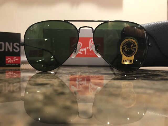 black ray ban aviators ebay