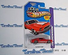 2013 Hot Wheels #245 HW Showroom (red) '68 SHELBY GT500 ~ FF5