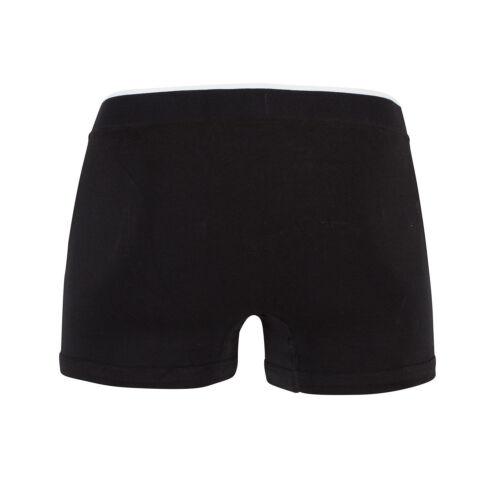 LACOSTE Men/'s 100/% Authentic Cotton Stretch Trunks Boxer Shorts 3 Pack Black