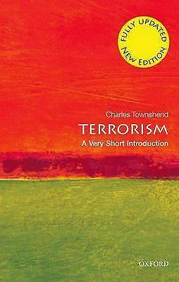 1 of 1 - Terrorism: A Very Short Introduction by Charles Townshend (Paperback, 2002)