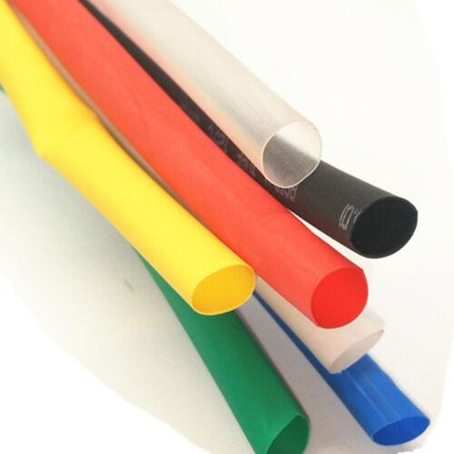 Heat Shrink Tubing Cable de alambre envoltura de aislamiento 5m Multicolo de 11 mm de diámetro interior