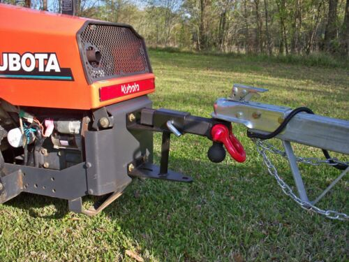"""Fits any 2/"""" hitch! Zero Turn Mower Tow Hitch Made in the USA Receiver"""