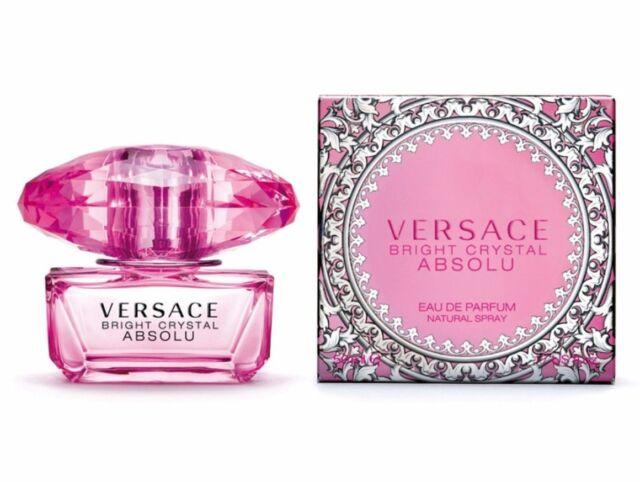 Versace Bright Crystal Absolu Fragrance for Women 50ml EDP Spray