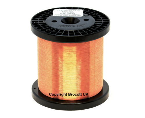 COIL WIRE 1KG SPOOL MAGNET WIRE 38AWG ENAMELLED COPPER WINDING WIRE