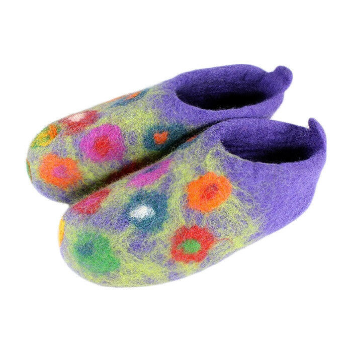 Wouomo Hefatto Felt Home Slippers