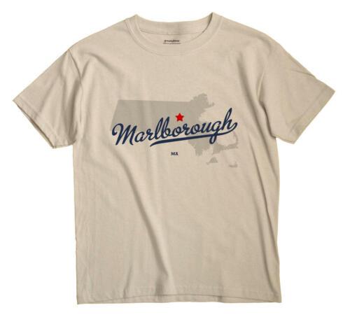 Marlborough Massachusetts MA Mass T-Shirt MAP
