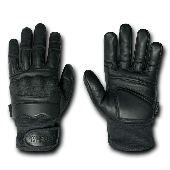 Black Attacker Level 5 CQB Combat Tactical Hatch Gloves Glove Pair S M L XL 2XL