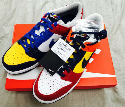New NIKE DUNK LOW JP WHAT THE Sneakers JP Only Model US 7.5 25.5cm With Box Rare