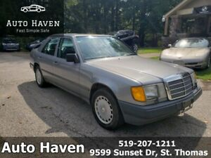 1988 MERCEDES-BENZ 300E *AS IS* | BARN FIND | ONE OWNER