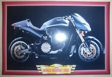 MUNCH MAMMUT 2000 CLASSIC MOTORCYCLE BIKE Y2K PICTURE PRINT 2000