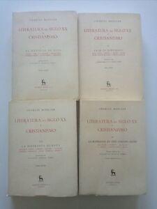 1970-Charles-Moeller-Literatura-del-Siglo-XX-y-Cristianismo-4-tomos