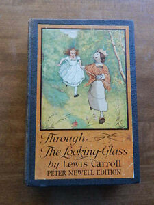 Through-The-Looking-Glass-and-What-Alice-Found-There-by-Lewis-Carroll-Hardcover