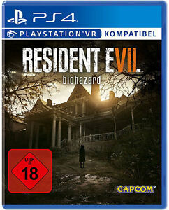 Sony-ps4-PlayStation-4-juego-residente-Evil-7-Biohazard-neu-new-18