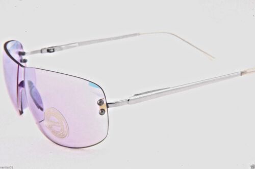 Rimless Clear Flash Mirror Lens Lightweight sunglasses with spring temples