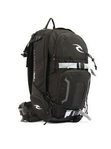 Rip-Curl-ULTIMATE-SNOW-B-P-Mens-Snow-Backpack-Back-Pack-Travel-Bag-BBPRDS-Blk