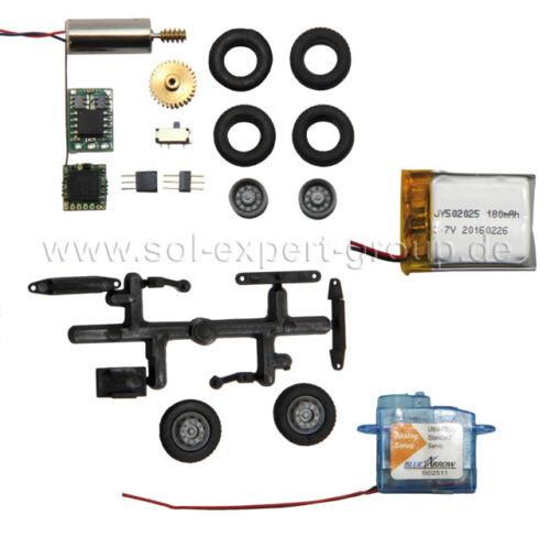 H0 1:87 autopartes para el sistema de coche modelos de RC-coche micro