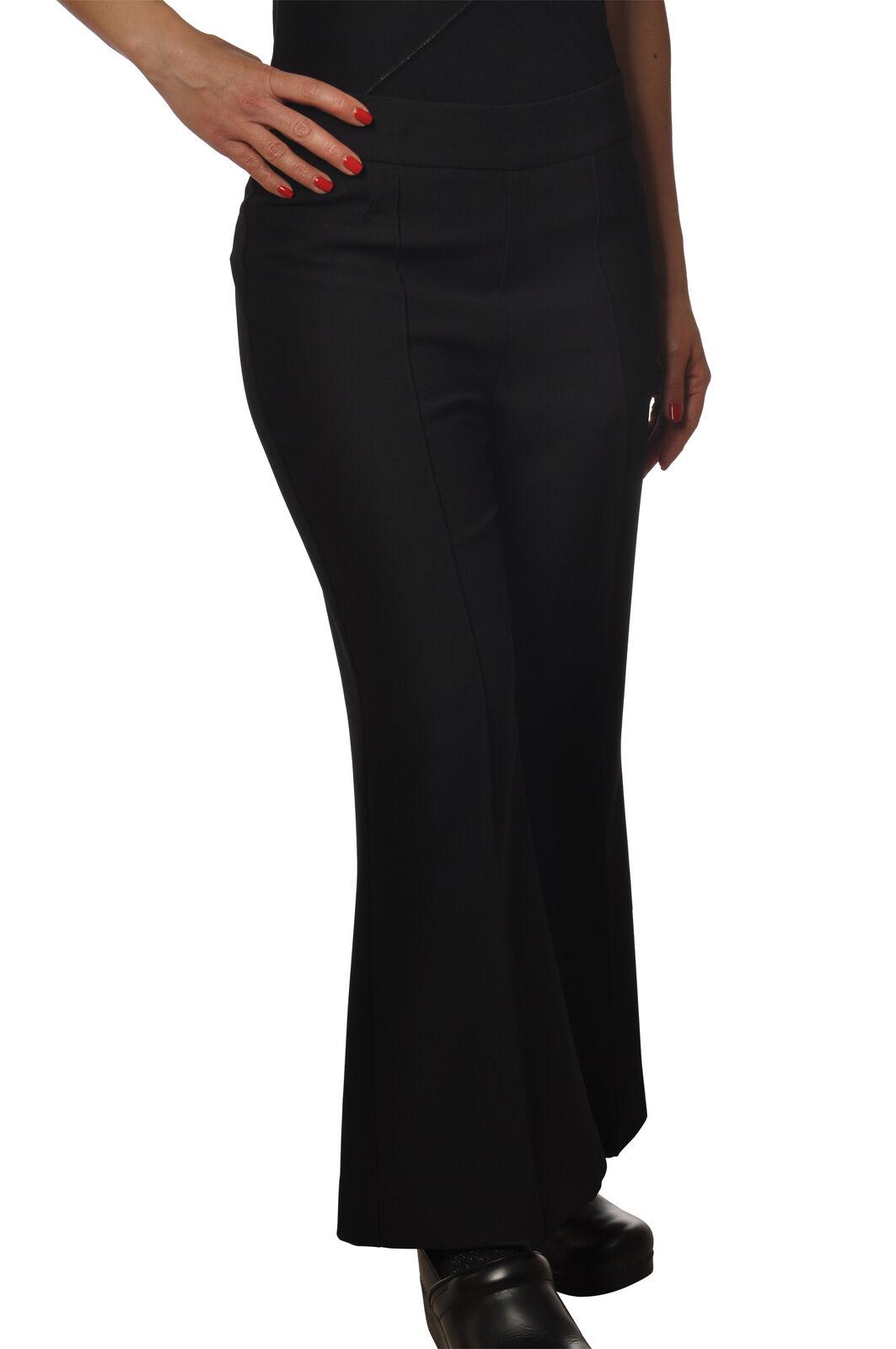 Ottod & 039;ame-Pantalones-Pantalones-Mujer  - Negro - 6147630E191033  ventas en linea