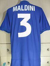 PAOLO MALDINI ITALY 1998 1999 KAPPA HOME VINATGE MAGLIA FOOTBALL SHIRT JERSEY M