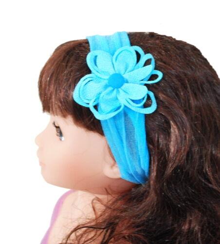 Haarband Stirnband Kopfband Blume Kopfschmuck Stoff  Chiffon Haarschmuck  Paris