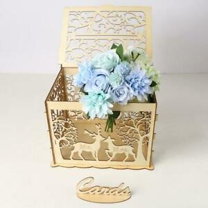 Wooden-Wedding-Card-Box-Wedding-DIY-Gift-Advice-Box-Party-with-Rustic-Lock-E6S6