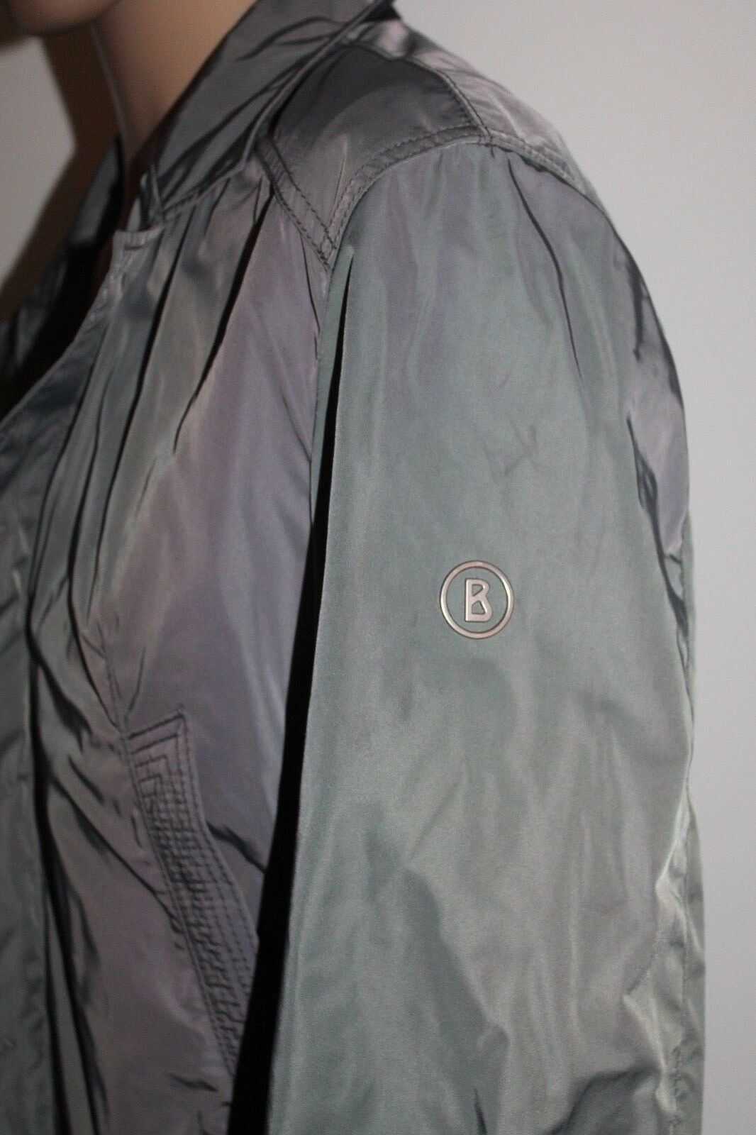 Bogner David Giacca Nero Uomo Grigio Nero Giacca Taglia 48 M nuovo con etichetta UVP 499 EURO 73dac7