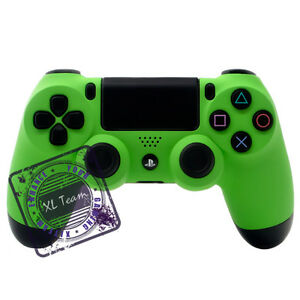 SONY DUALSHOCK 4 CUSTOM PS4 SOFT TOUCH GREEN CONTROLLER ...