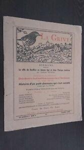 Rivista La Mughetto N° 87 Juillet 1955 Jean-Eugene Bersier ABE
