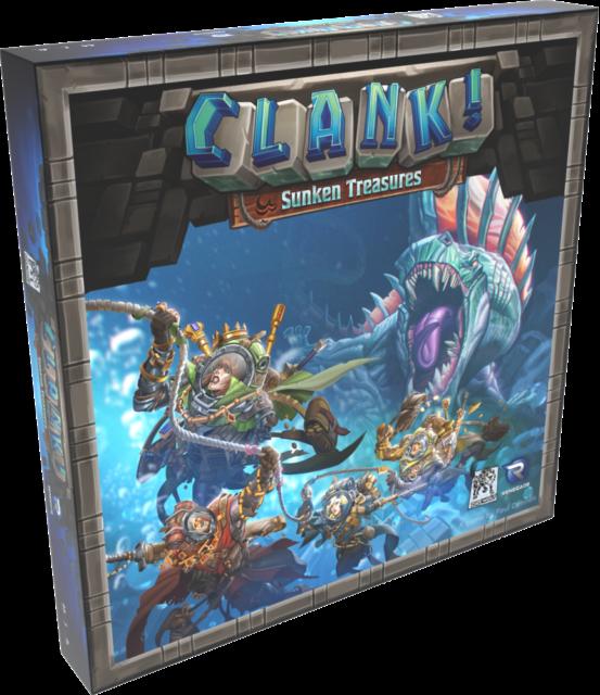 Clank! RGS00569 Renegade Game Studios Sunken Treasures Expansion