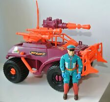GI joe figure forza di azione veicolo 1993 CRIMSON CRUISER M BISON Street Fighter