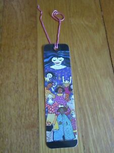 Vtg-Antioch-Collectible-Bookmark-Kiki-Colorful-Women-Motherhood-Mothers-FreeShip