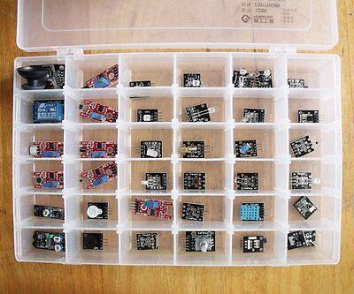 Ultimate 37 in 1 Sensor Modules Kit for Arduino & MCU Education User electronic
