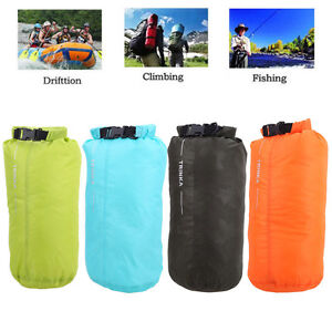 bba623bf0a36 Image is loading 8L-Outdoor-Waterproof-Canoe-Swimming-Camping-Hiking- Backpack-