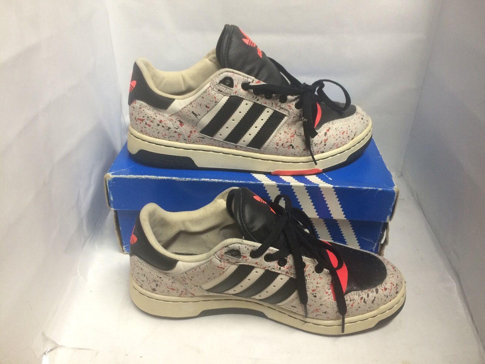 Adidas playmaker usato basso dipingere schizzi infrarossi usato playmaker dimensioni 9.5 supremo c6348a