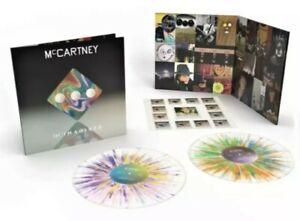 NEW PAUL MCCARTNEY III Imagined SPLATTER VINYL 2 LP LIMITED EDITION 2021 beatles