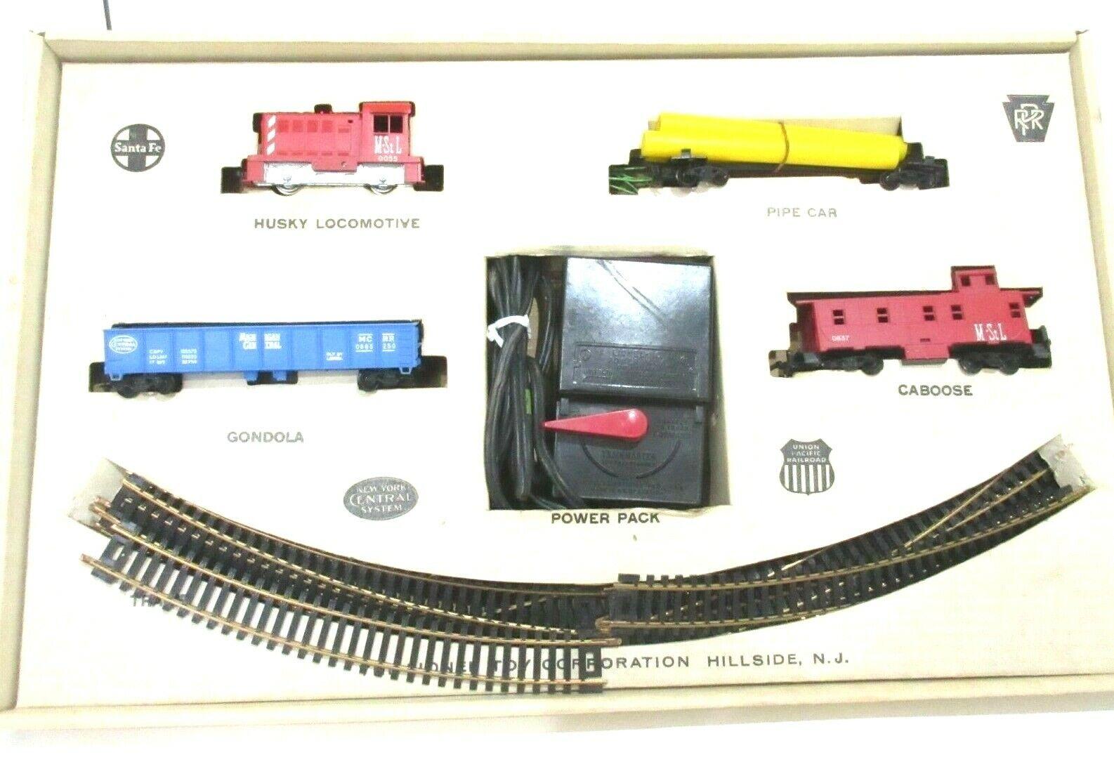 Trenes Lionel Escala Ho (4 unidad Husky De Mercancías Set Locomotora motor)